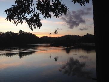 Sunset Kandy Sri Lanka