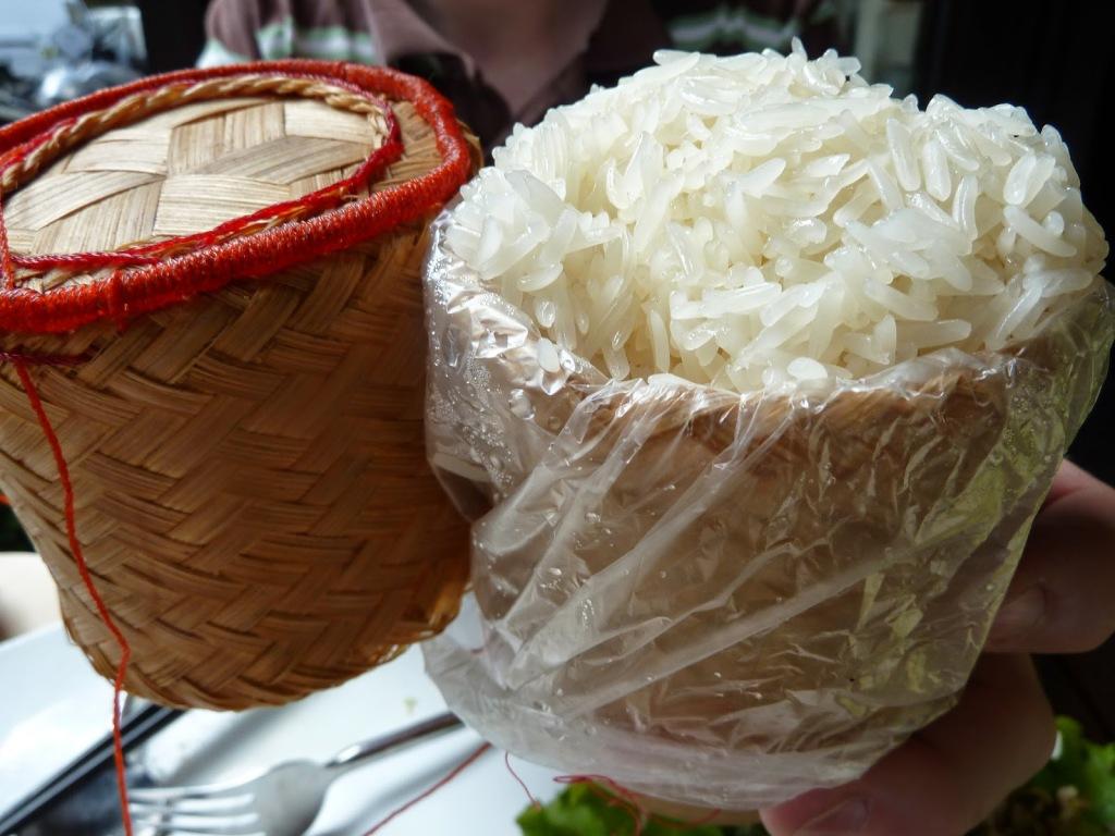 sticky rice Laos cuisine food guide