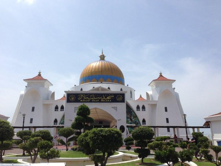 Mosque Malakka Melakka Malacca Malaysia