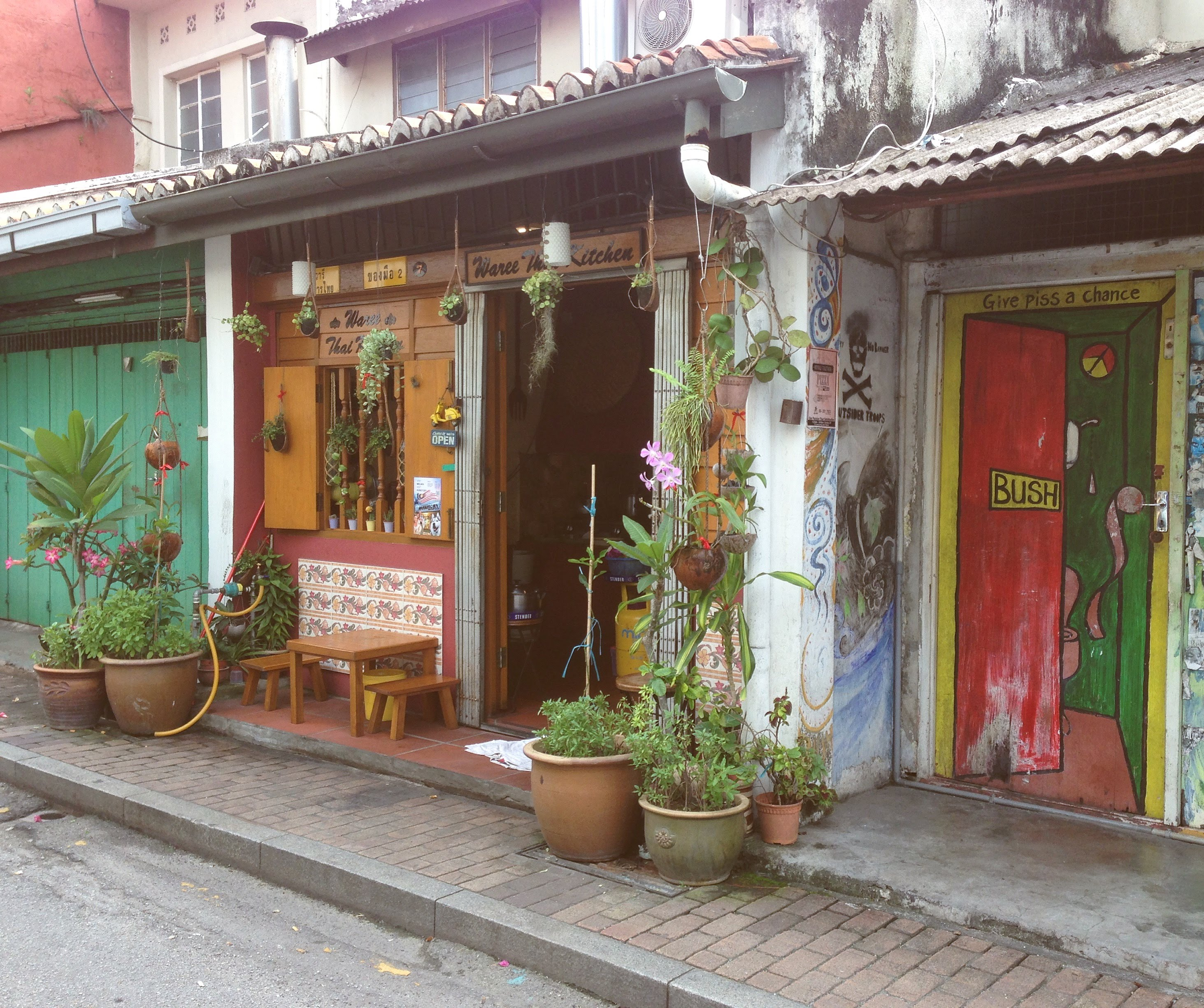 Malakka Melakka Malacca street Malaysia colonial houses
