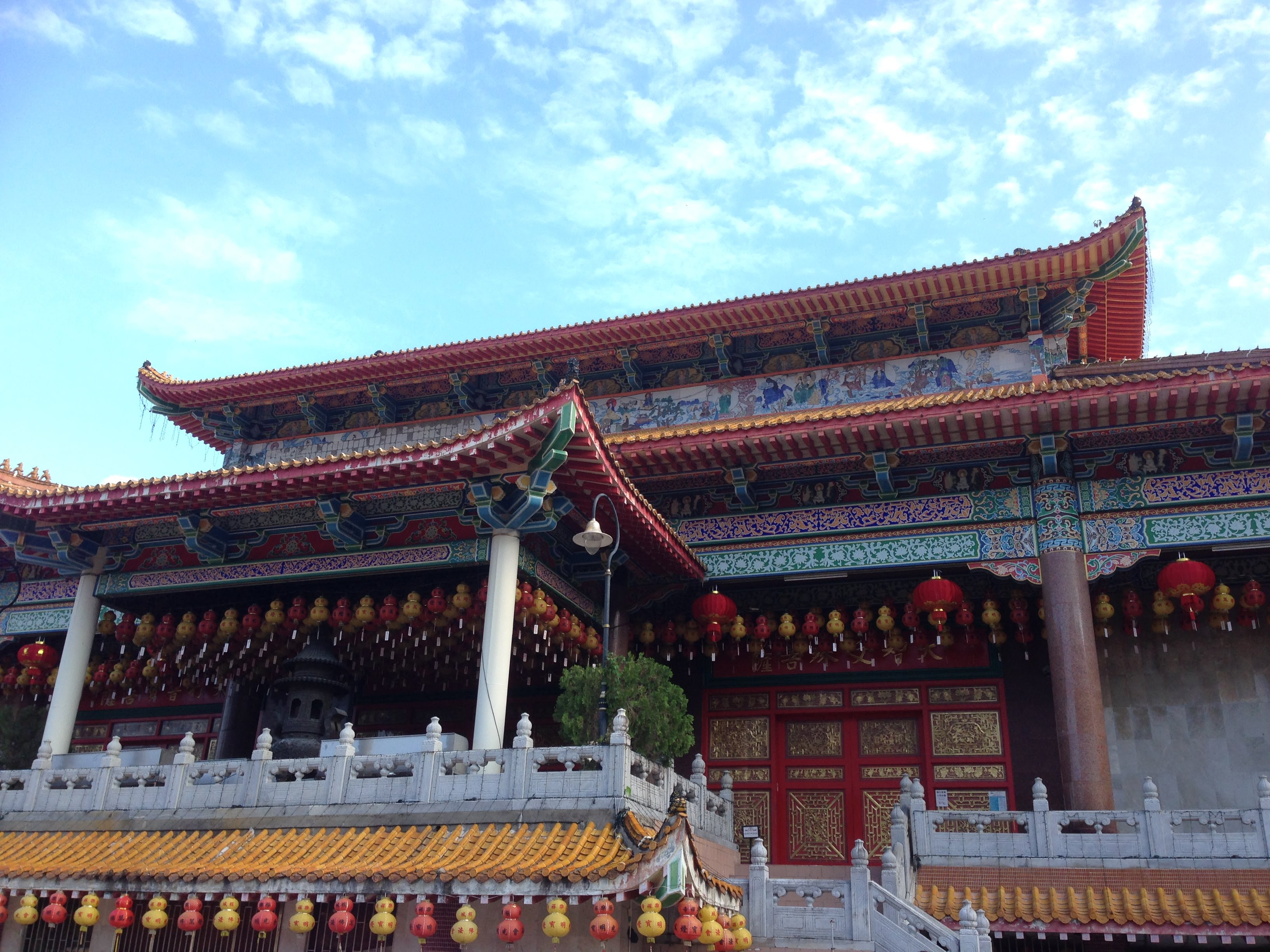 Chinese temple George Town Penang Malaysia