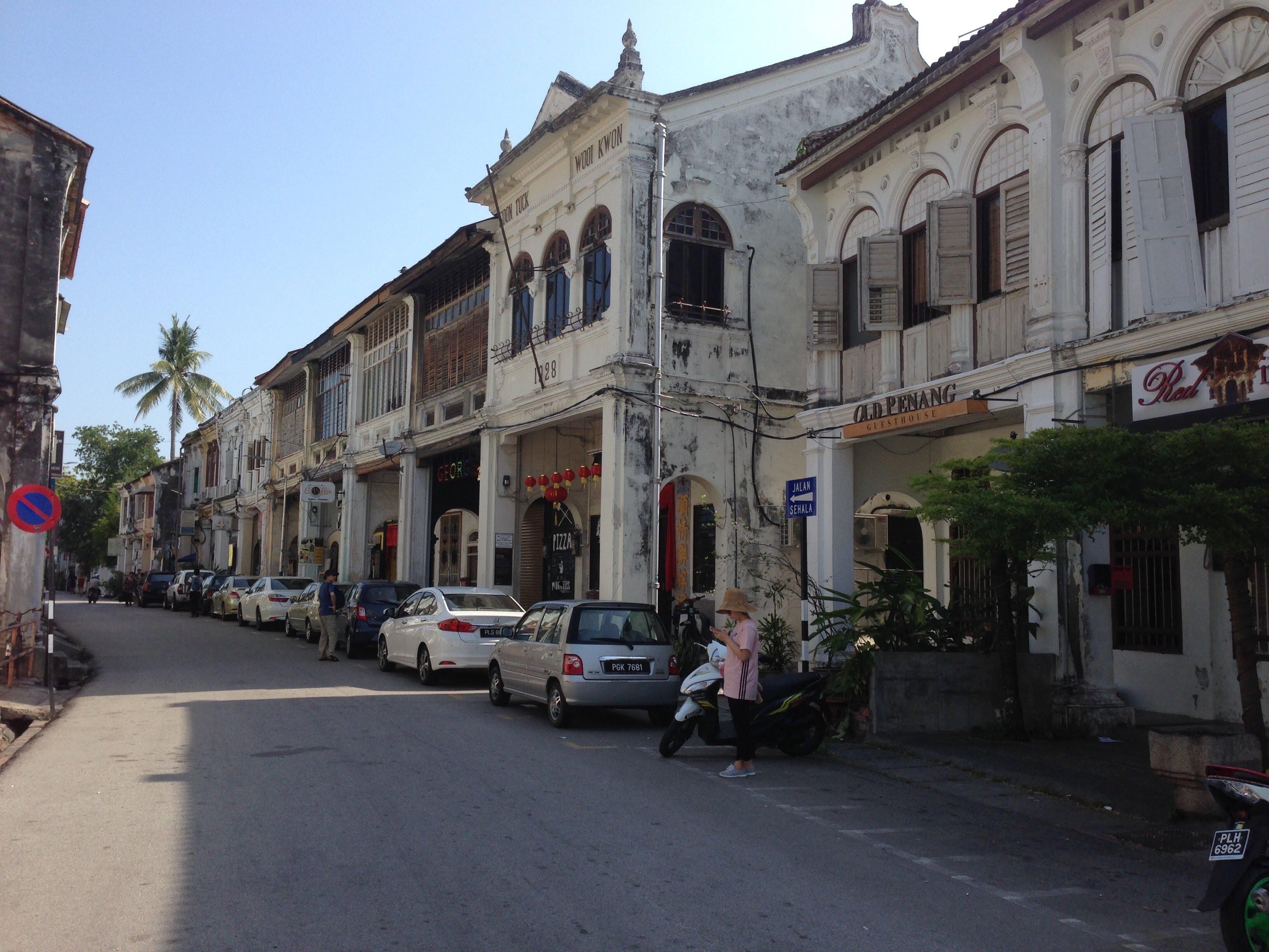 George Town Penang Malaysia Armenian street shops