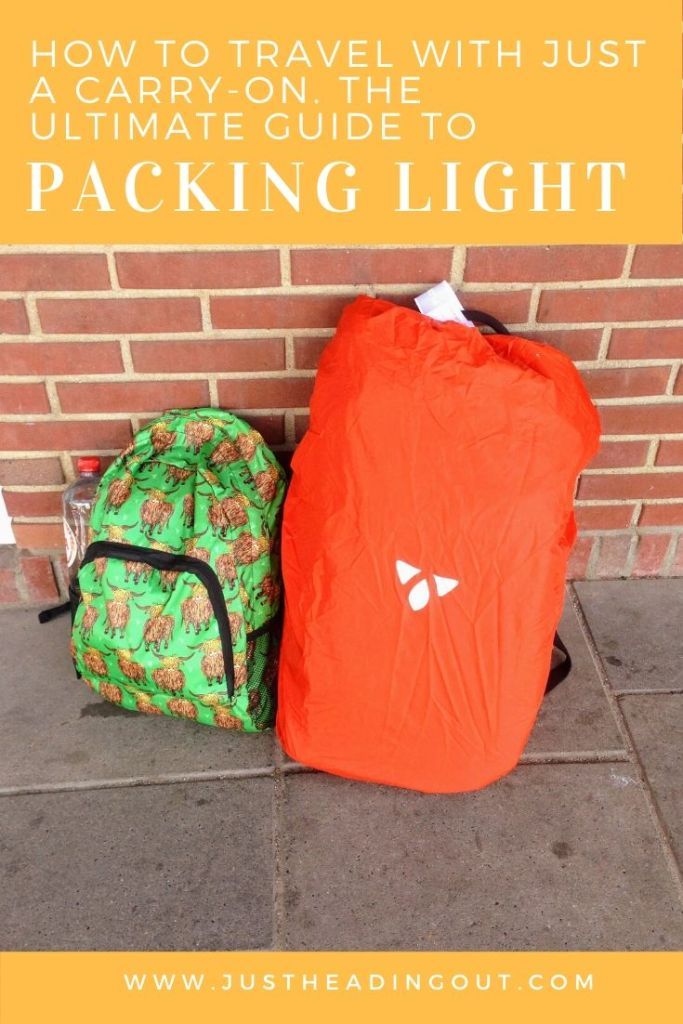 backpacking tips travel tips packing guide backpack carry-on