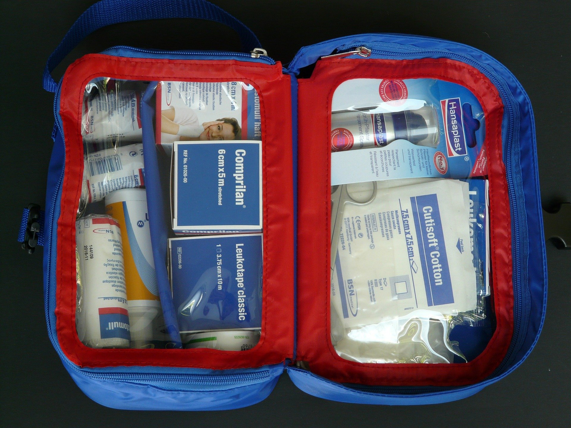 First Aid Kit travel essentials safe travel