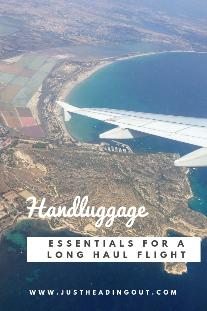 hand luggage handluggage carry on long haul flight essentials airplane