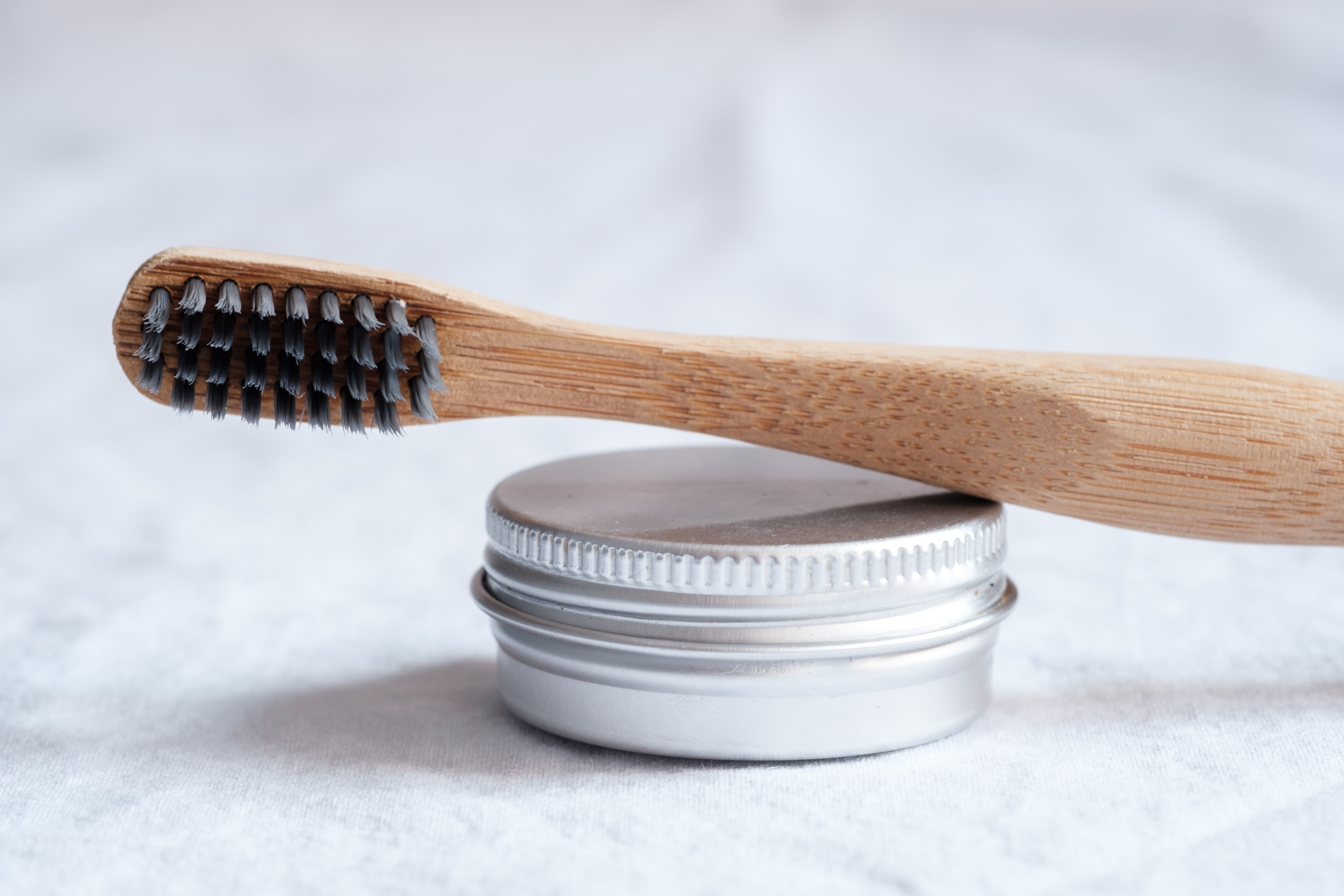 bamboo toothbrush solid toothpaste travel essentials sustainable
