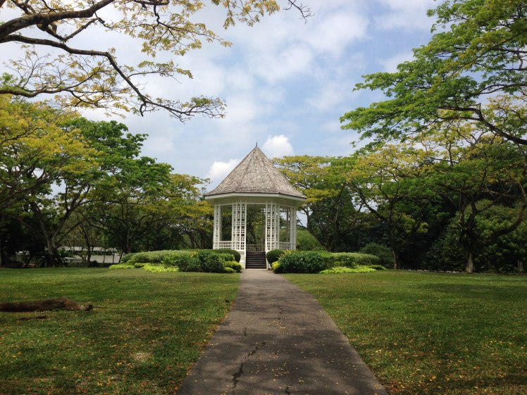 Singapore Botanical Garden gazebo