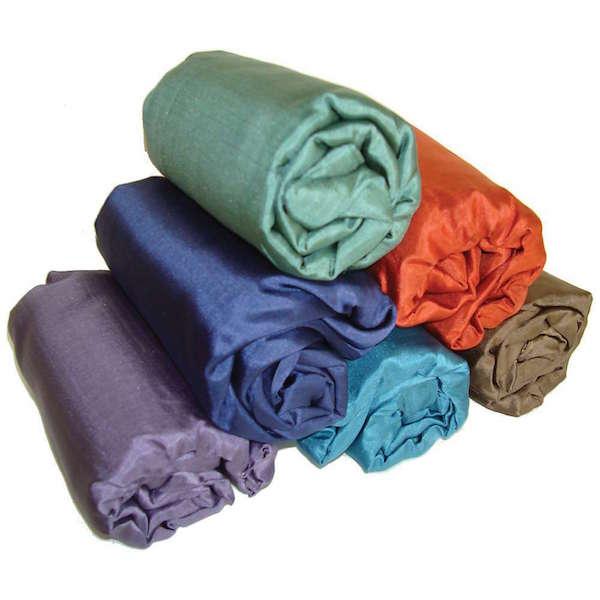 silk sleeping bag liner travel gadget