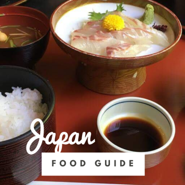Japan food guide things to eat Japanese cuisine ramen sushi noodles matcha