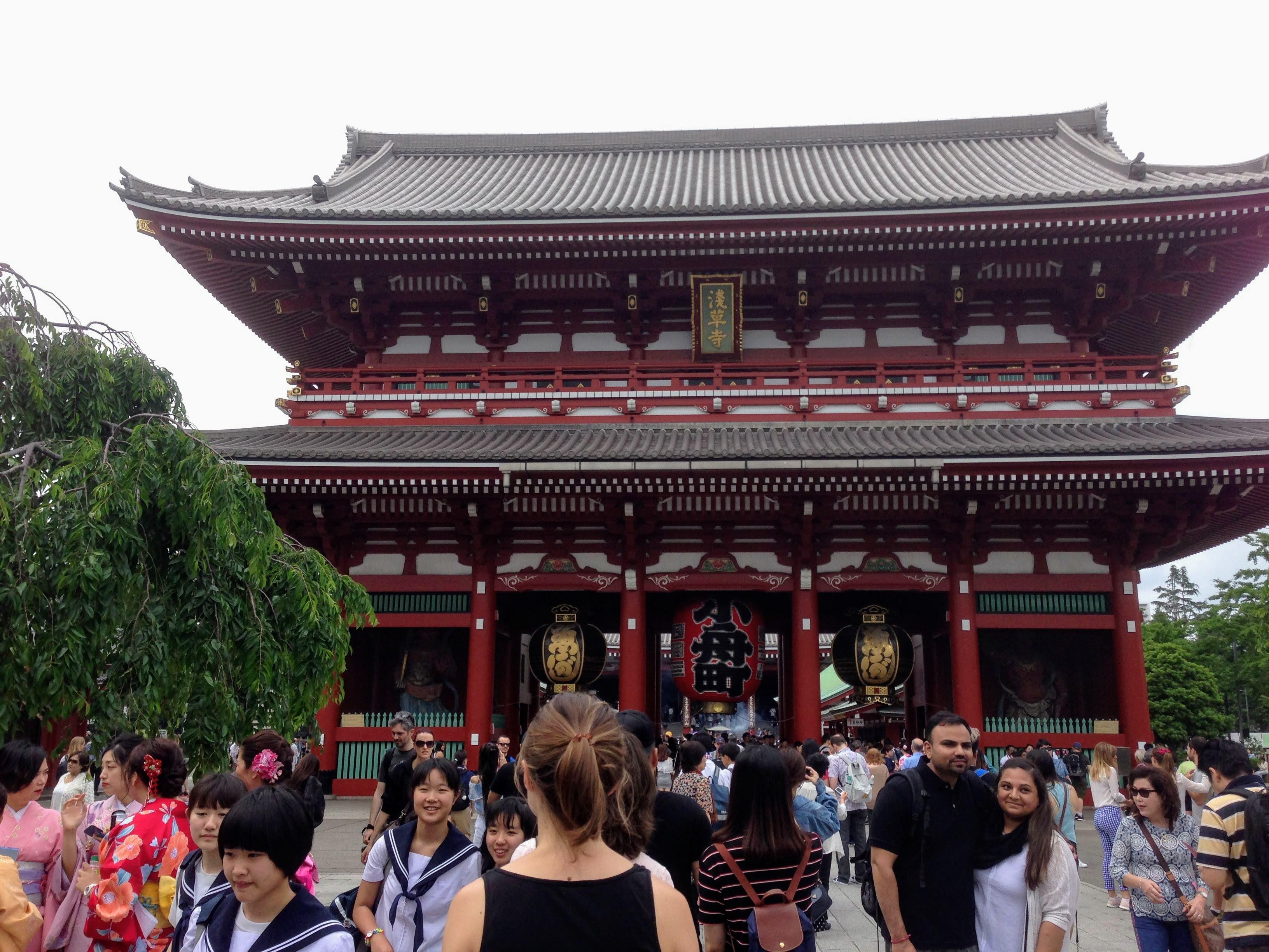 Tokyo temple Senso Ji japan