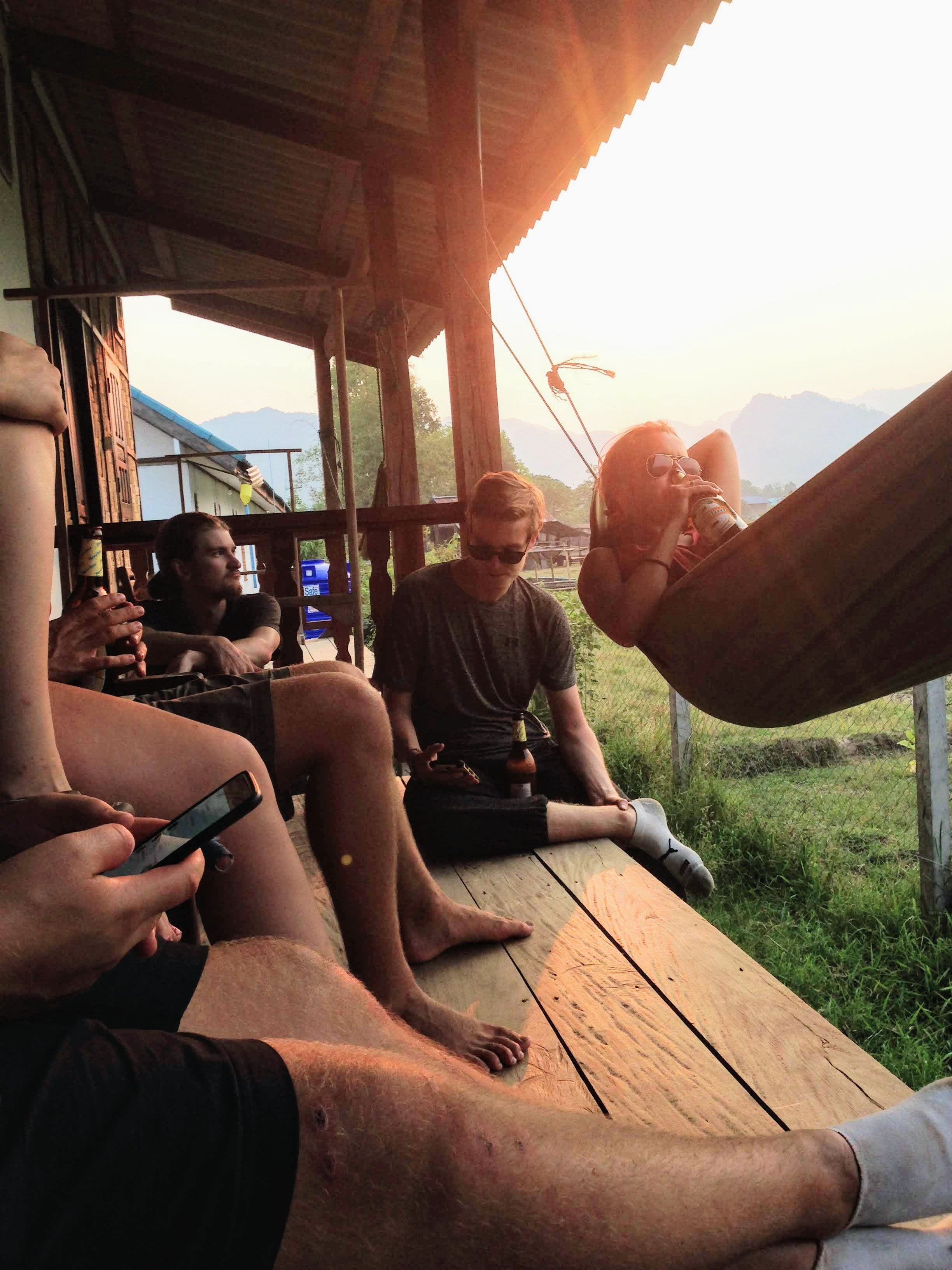 hostel laos southest asia budget travel backpacker