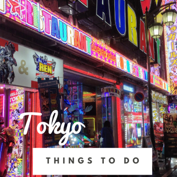 Tokyo city guide Japan itinerary things to do travel tips