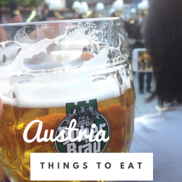 Austria things to eat food guide Austrian cuisine travel tips