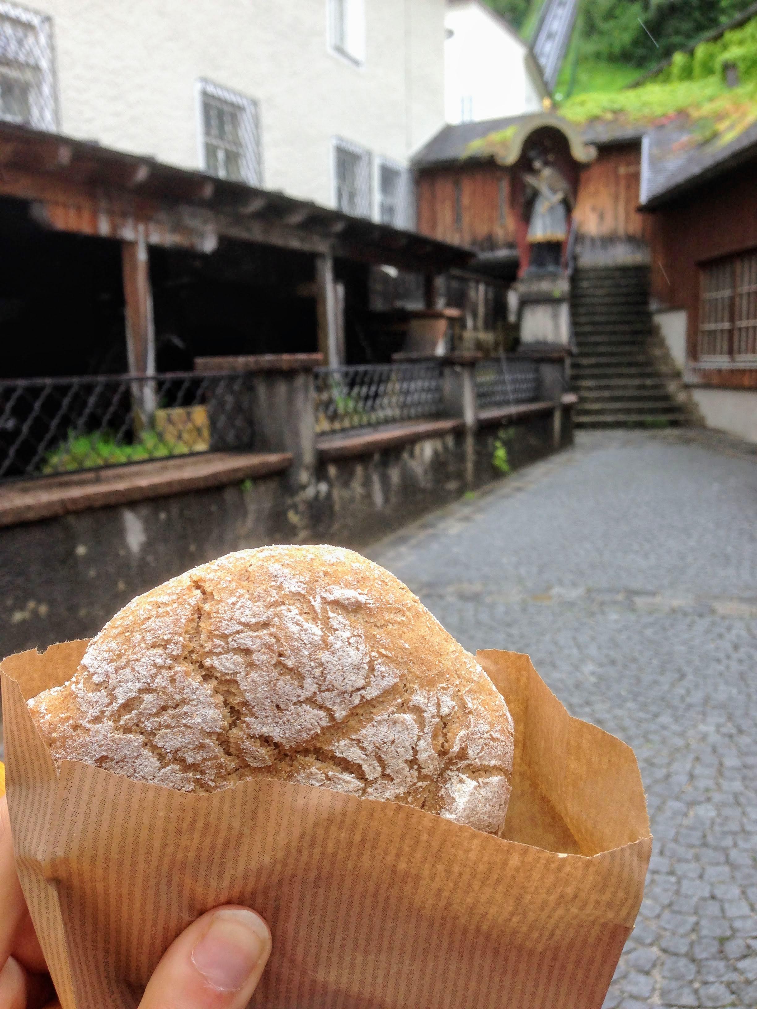 Austrian bread Salzburg food guide bakery
