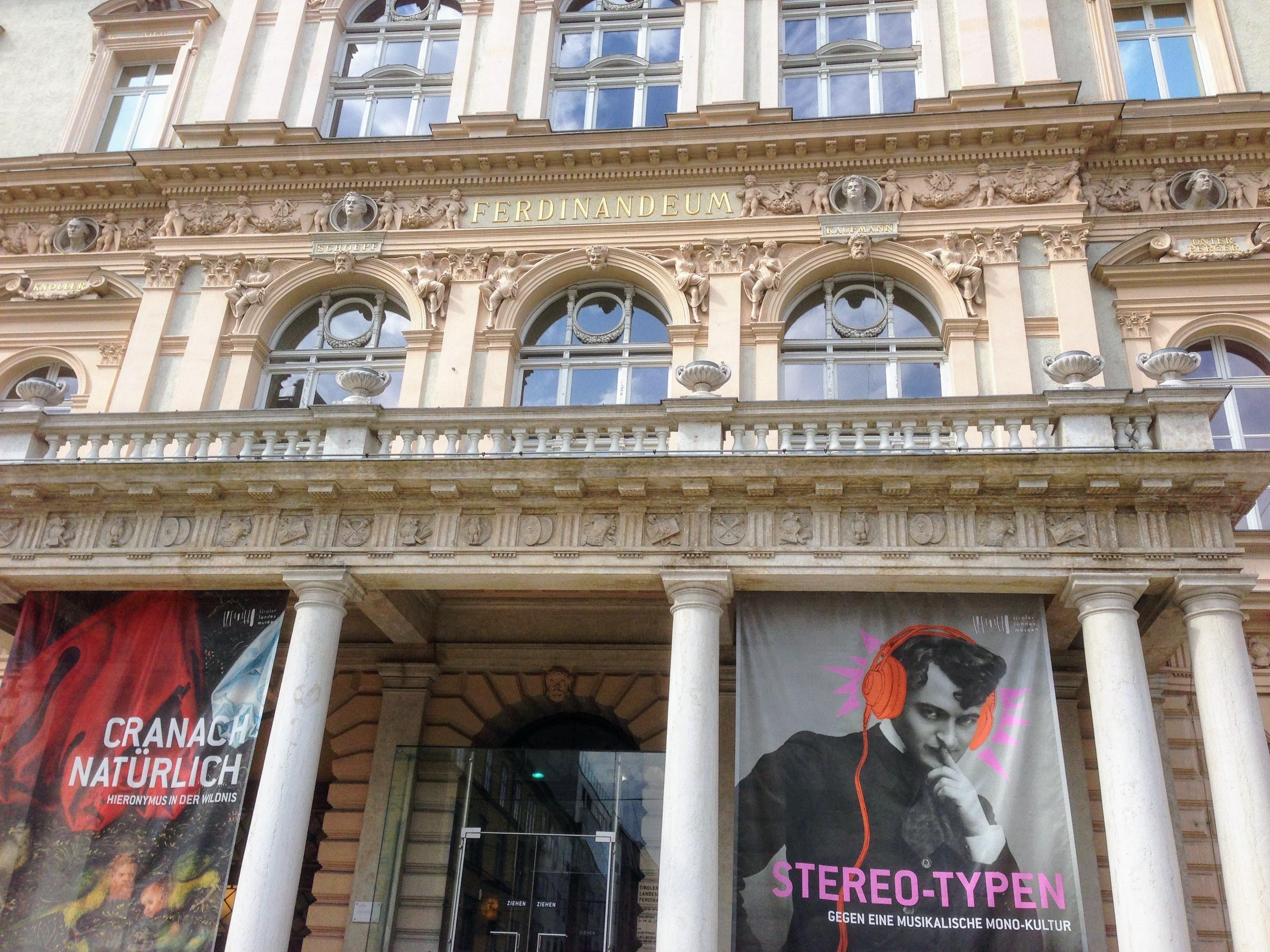Landesmuseum Ferdinandeum Innsbruck Austria art museum