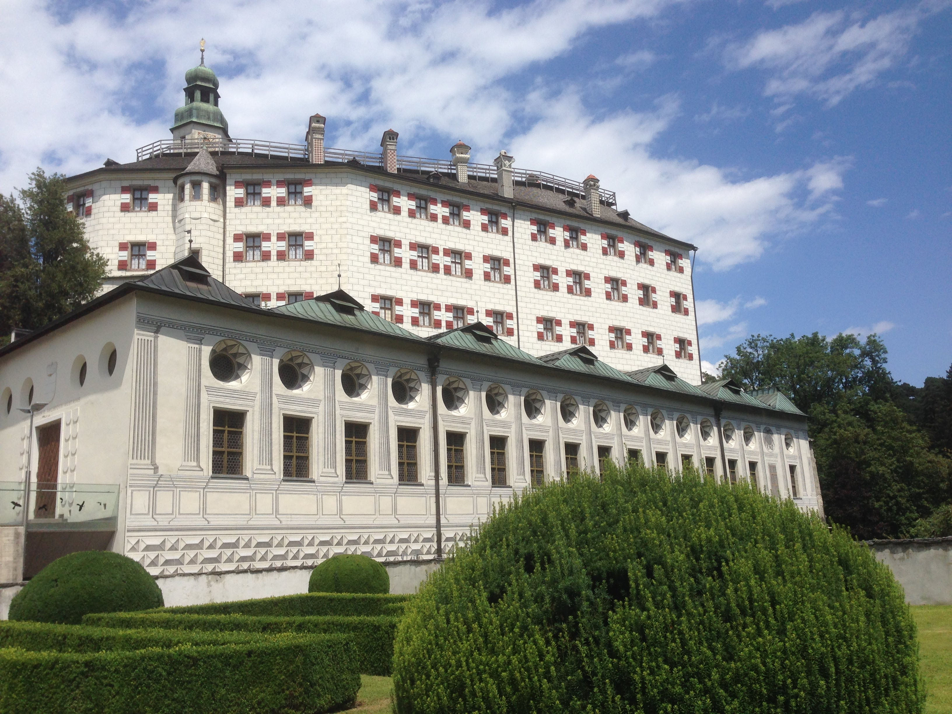Schloss Ambrass Innsbruck Austria castle