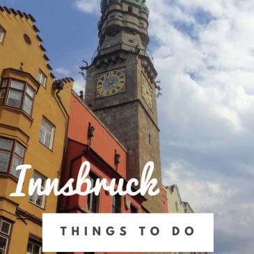 innsbruck city guide austria tirol travel guide