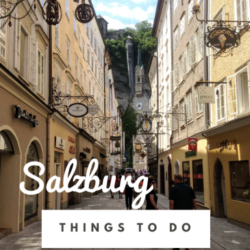Salzburg city guide travel tips Austria things to do