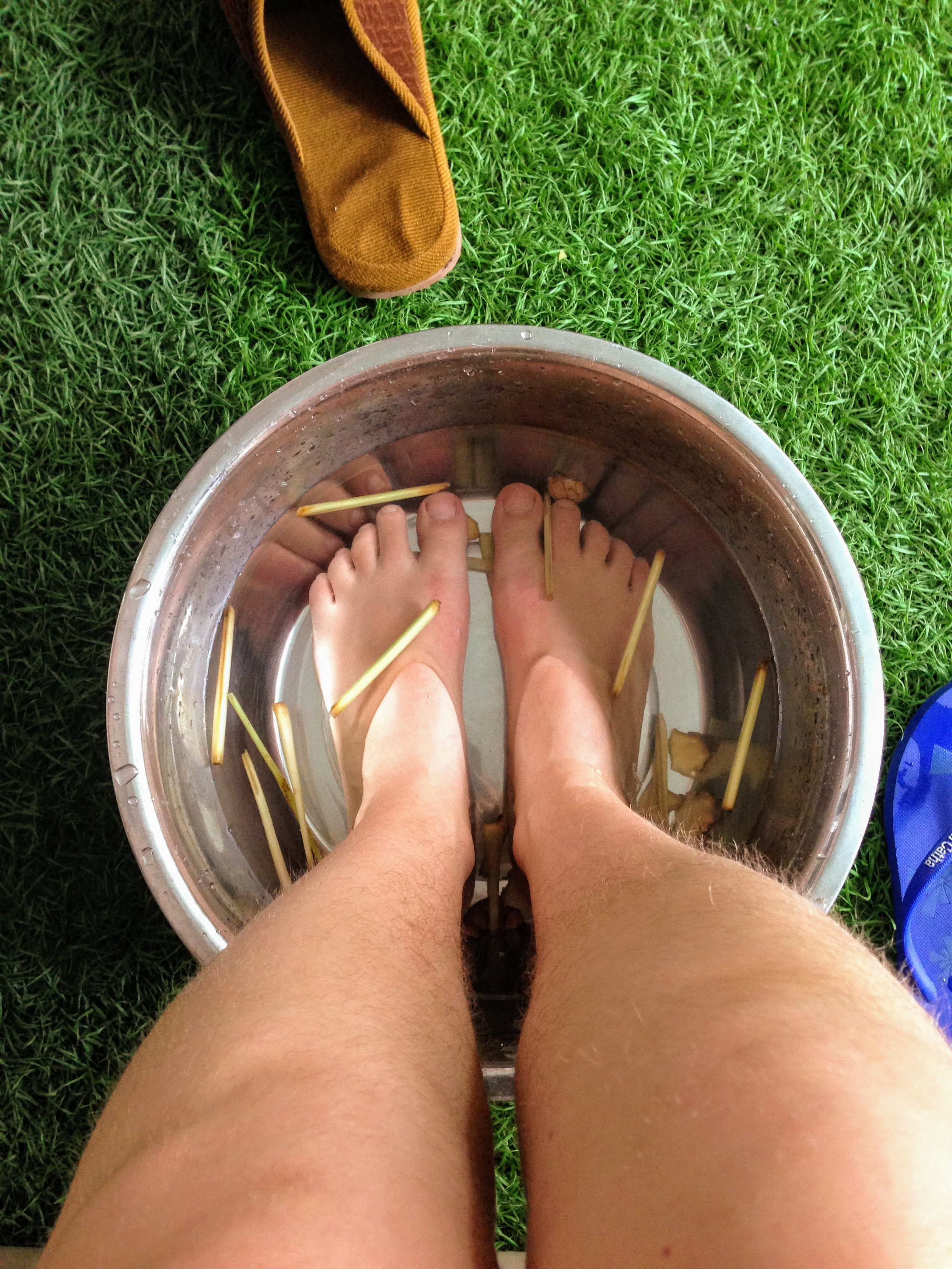 foot massage self care travel Vietnam Hoi An