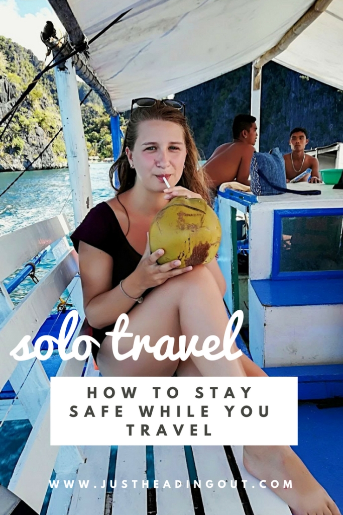 safe travel solo travel traveling alone staying safe safety tips