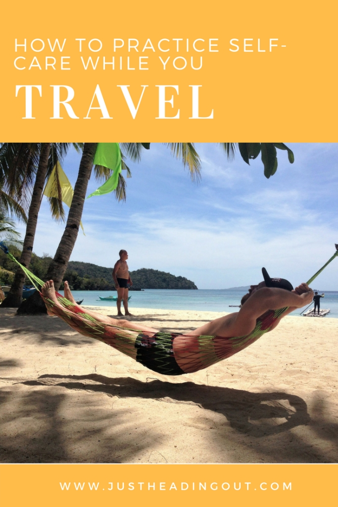 selfcare hammock philippines Coron beach travel
