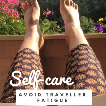 travel fatigue selfcare solo travel