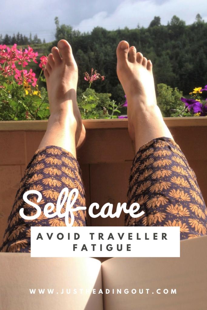 travel fatigue selfcare solo travel