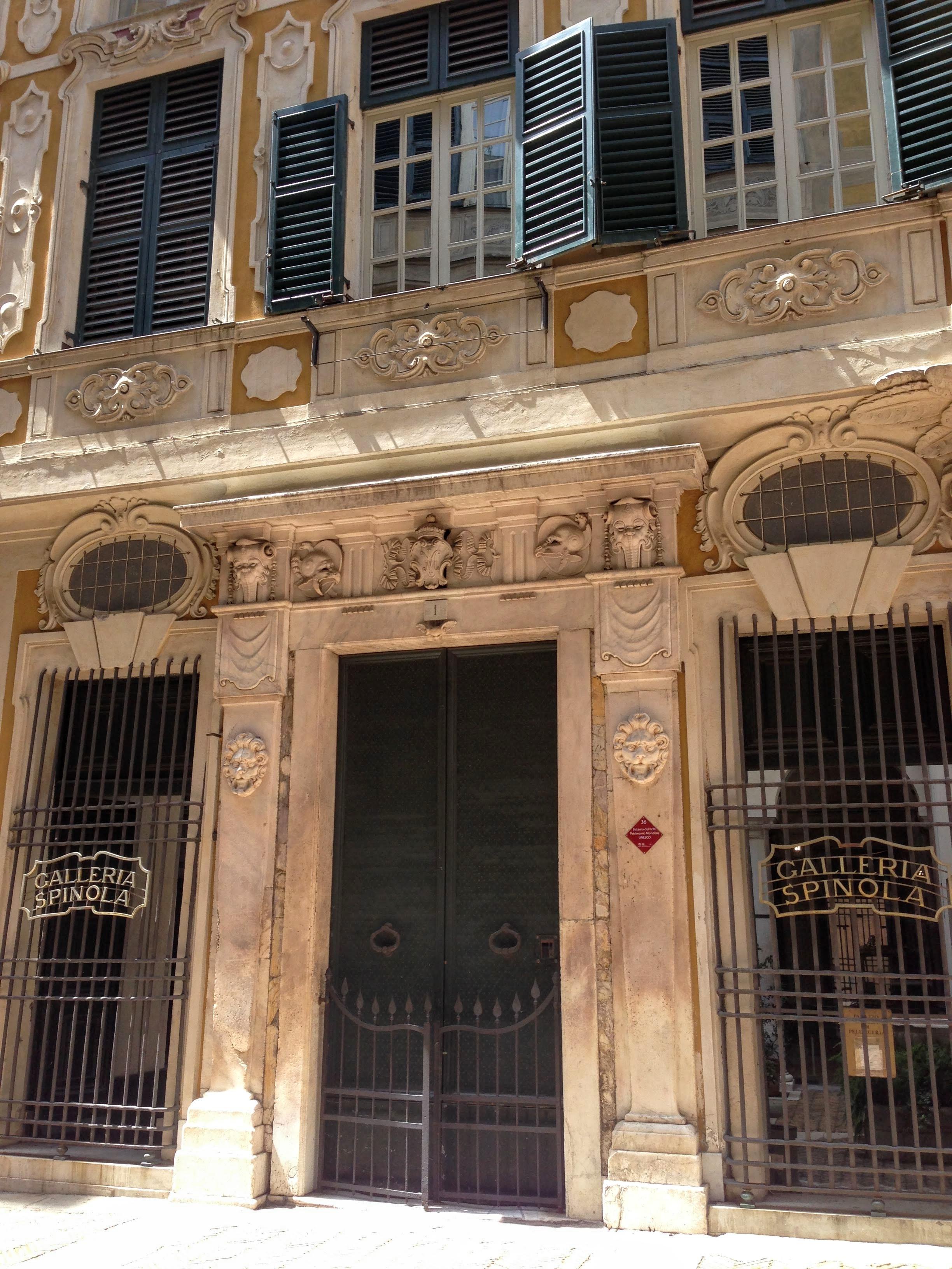 Genova Museum Galleria Spinola Italy
