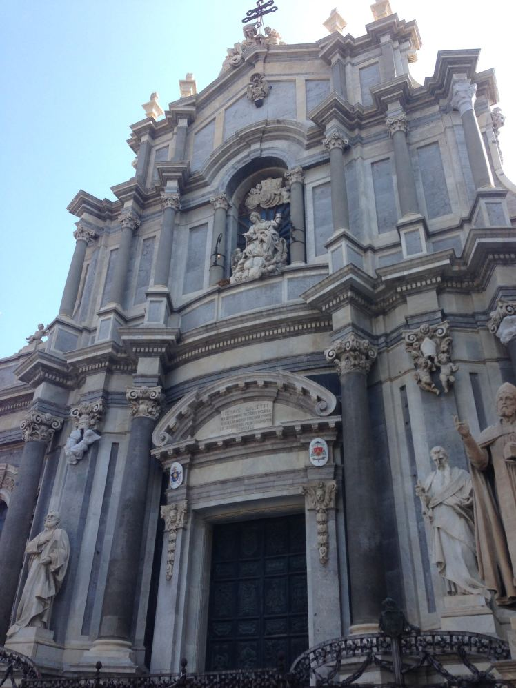 catania sicily italy duomo cathedral