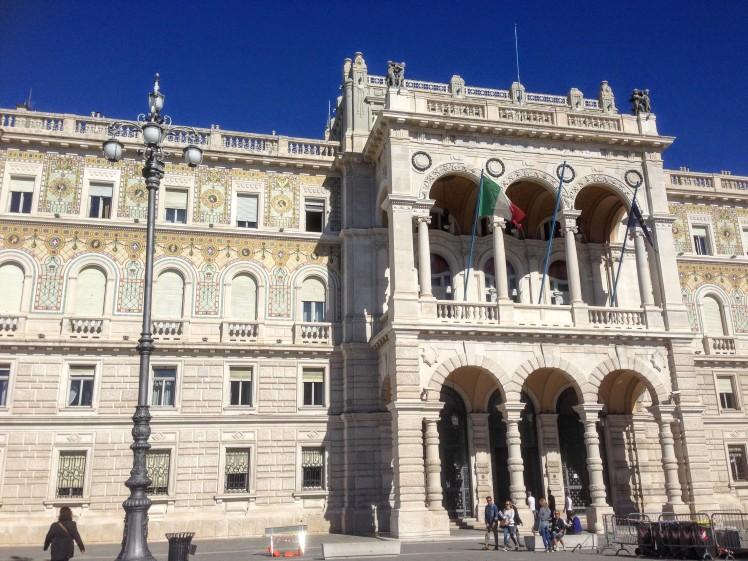 Palazzo del Governo Piazza Unita Trieste Italy