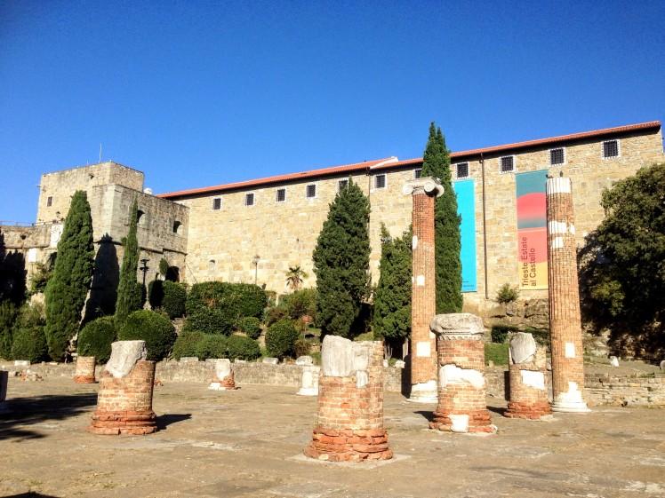 Trieste Italy Castle Castello