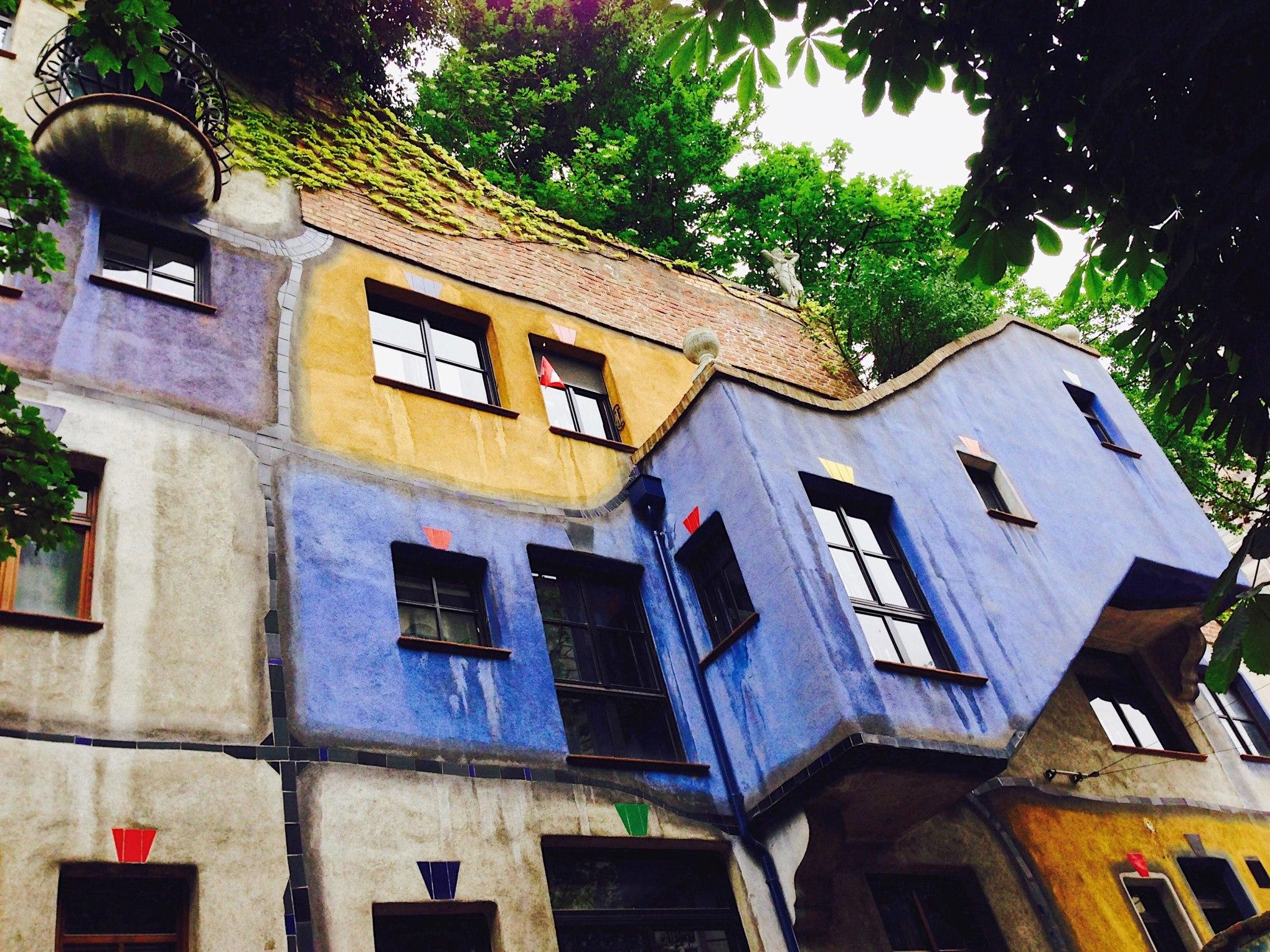 Hundertwasserhaus Vienna Austria