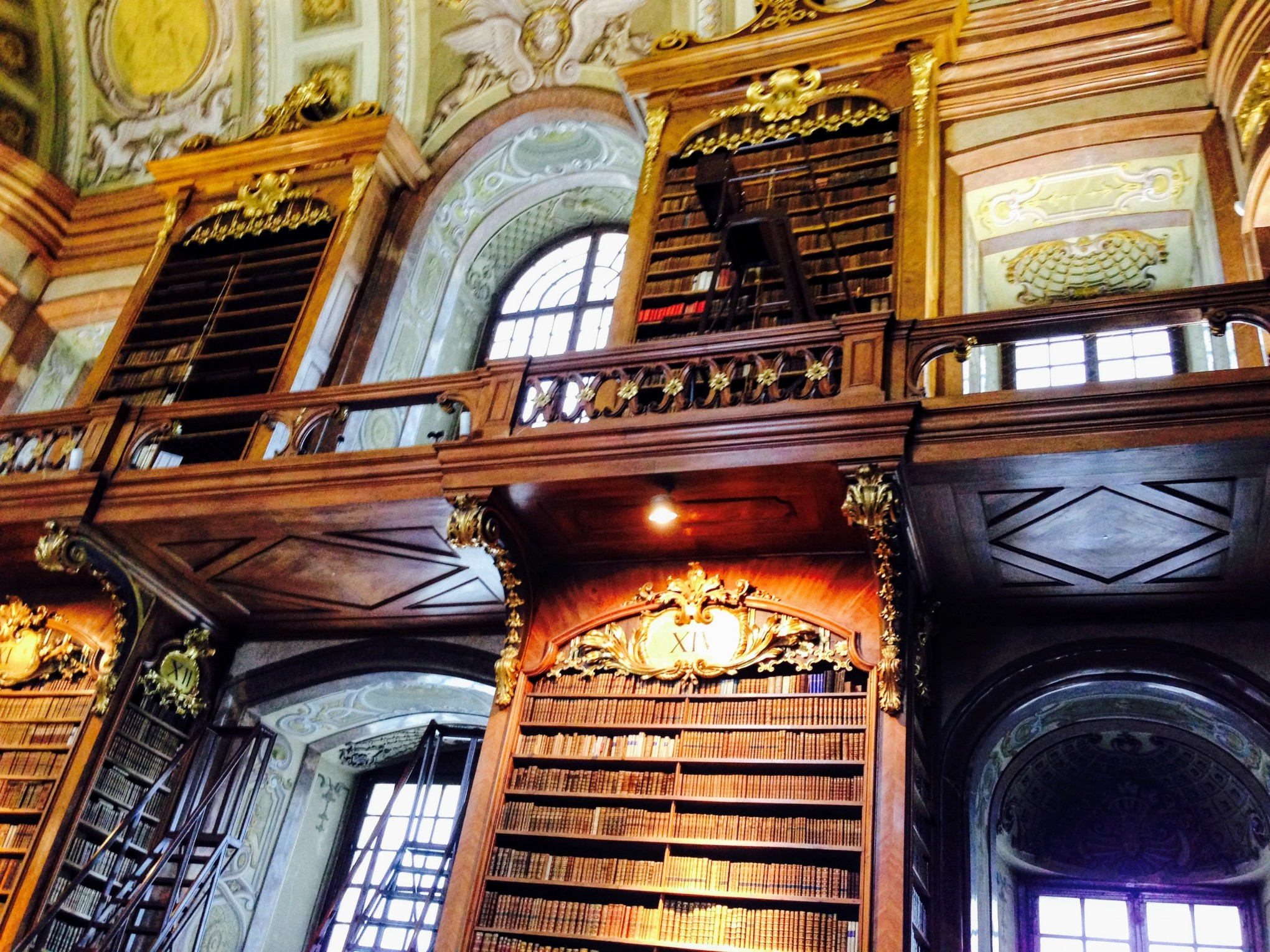 Vienna Palace Royal Library Austria
