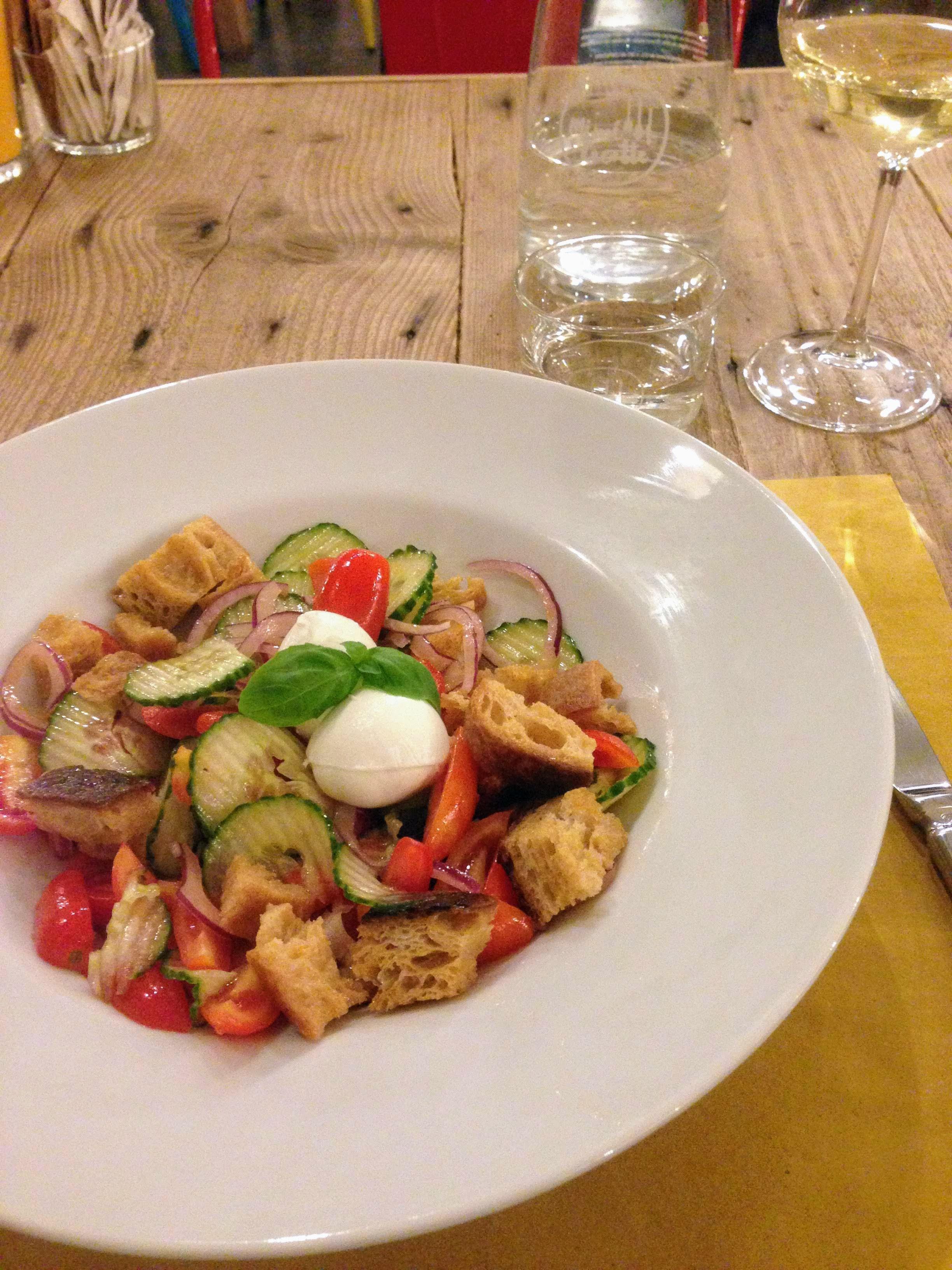 Trieste food panzanella Italy