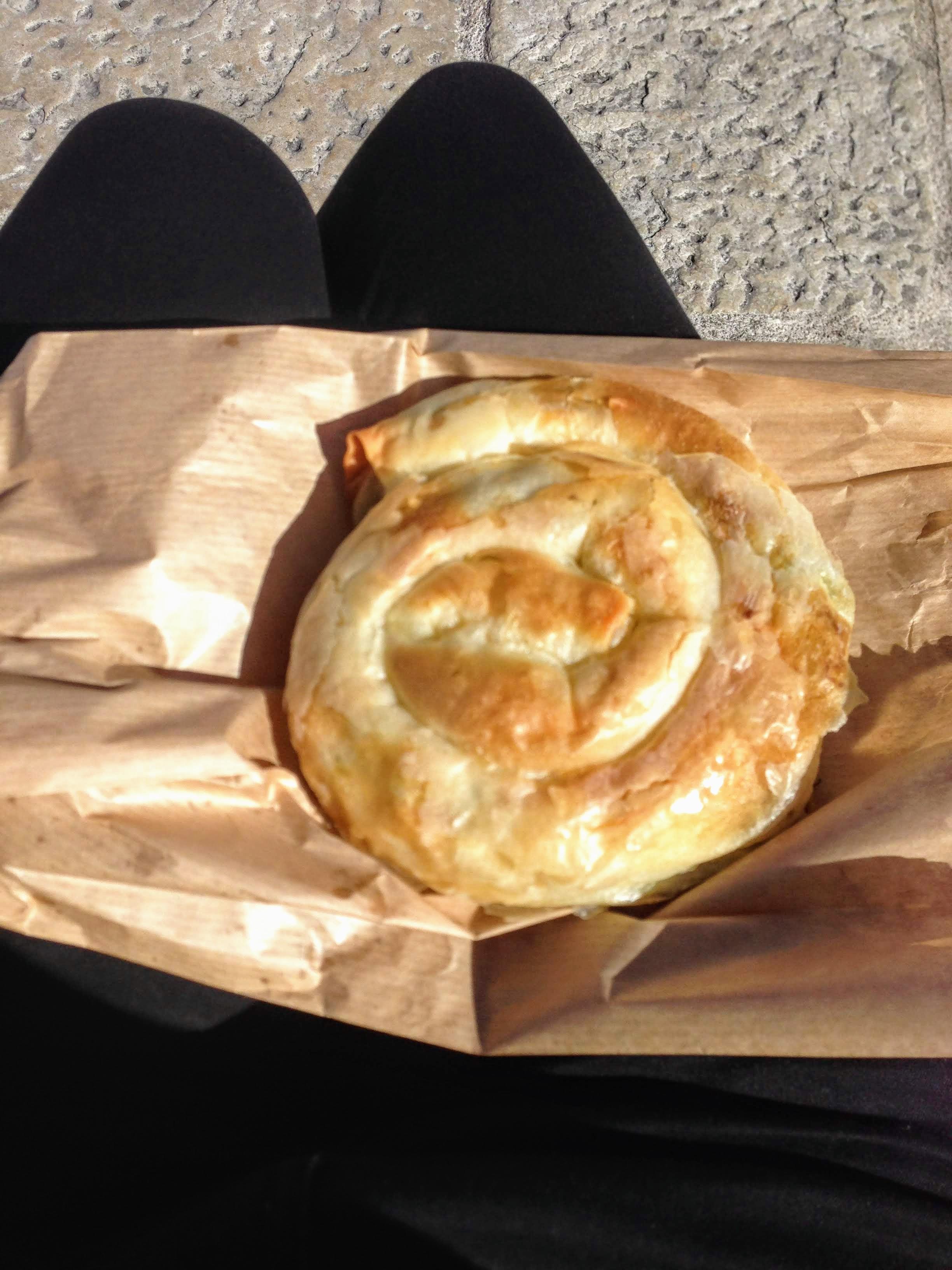 börek Slovenia Piran pie