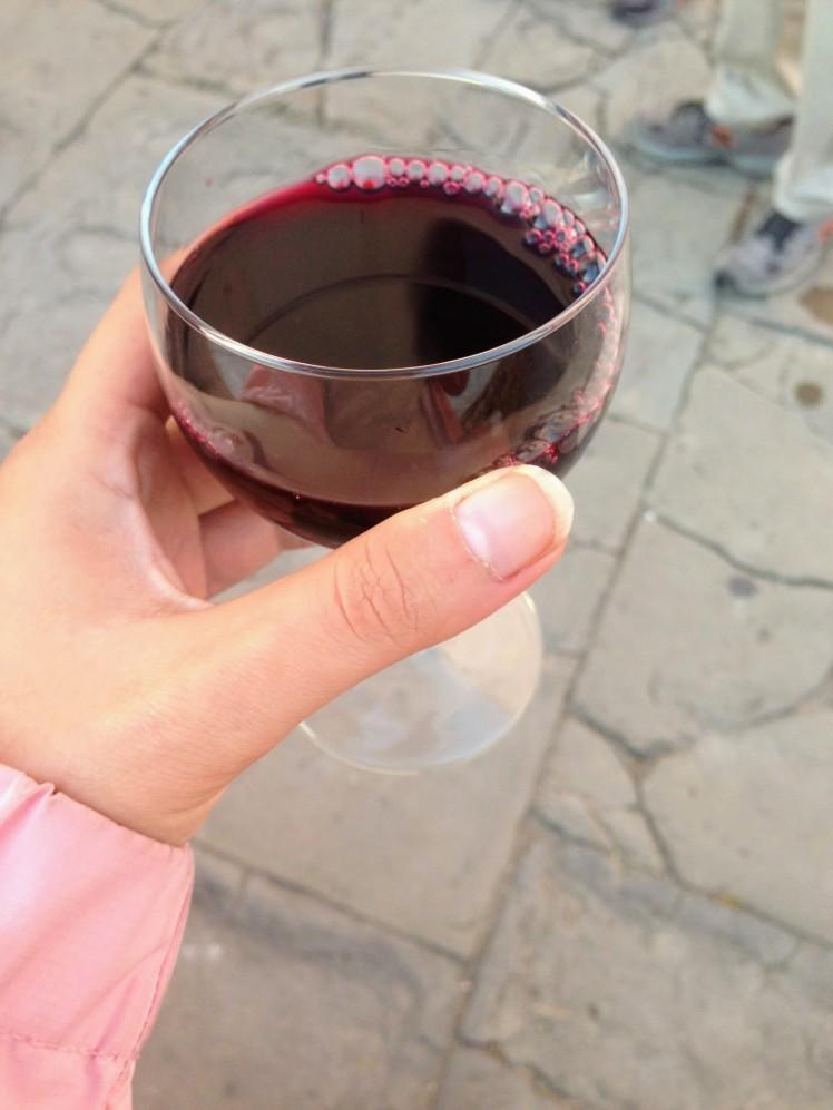 Slovenia red wine Ljubljana