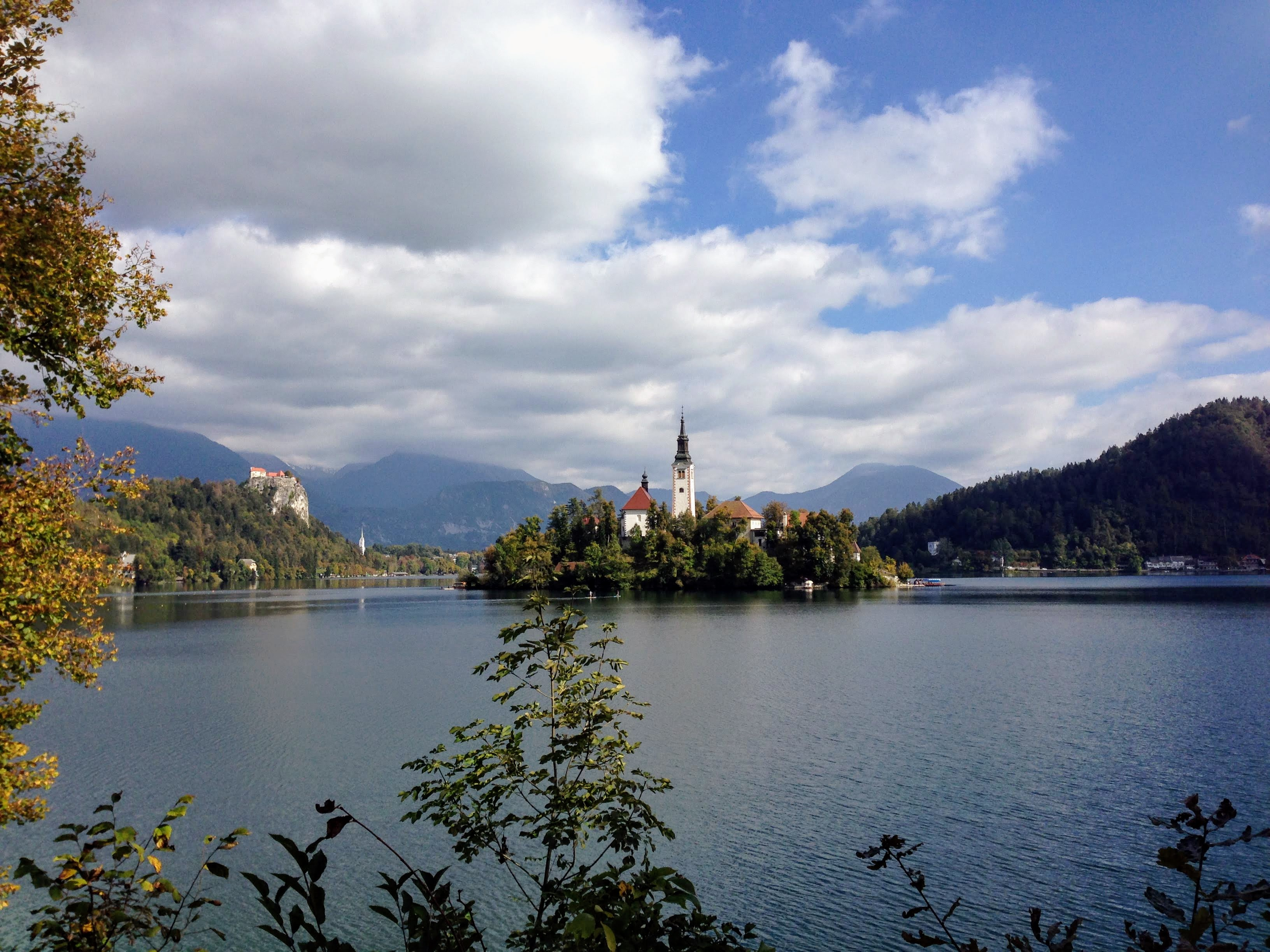 Lake Bled Ljubljana Slovenia