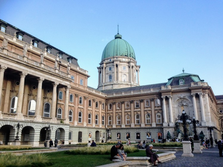 Buda Castle Hungary Budapest