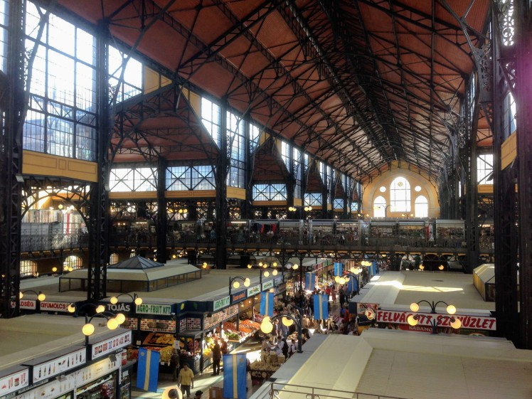 Central Great Market Hall Budapest Hungary