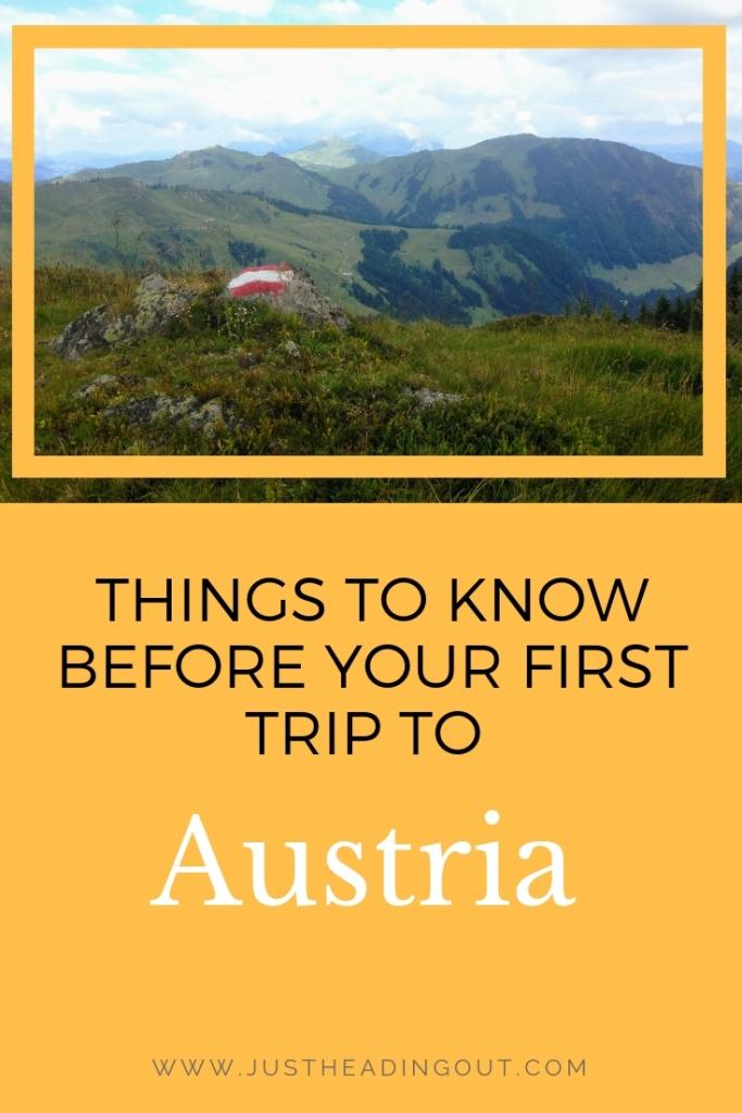 travel tips Austria travel guide