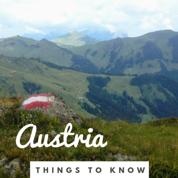 Austria tips travel things to know advice