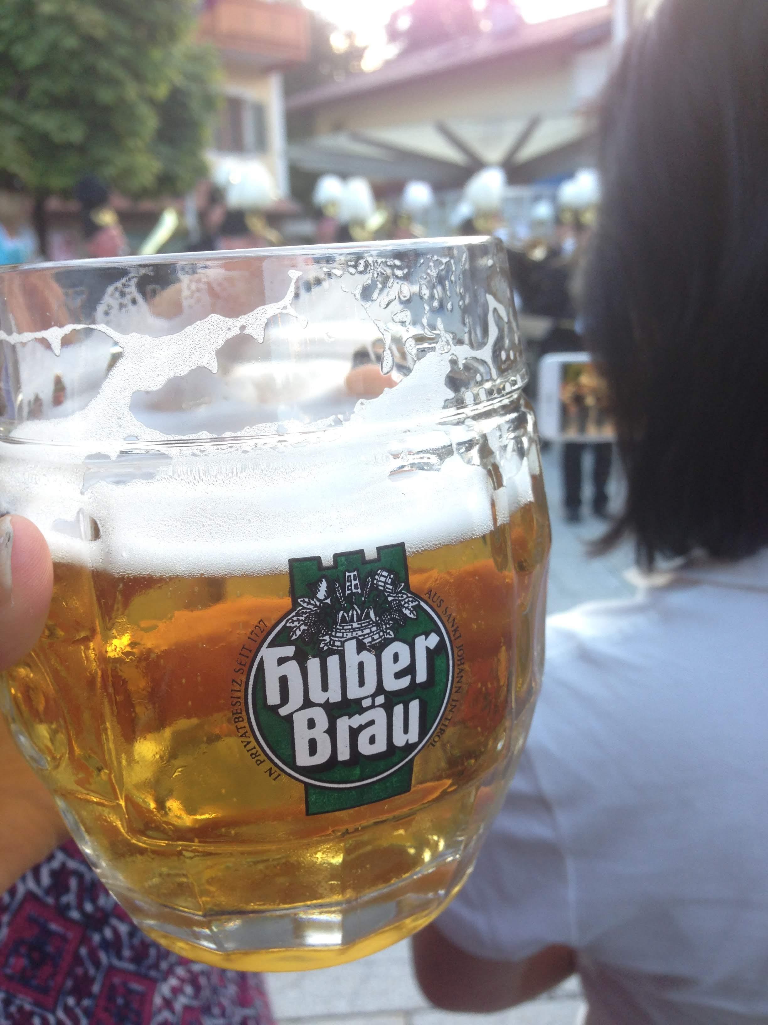Austria beer village fest