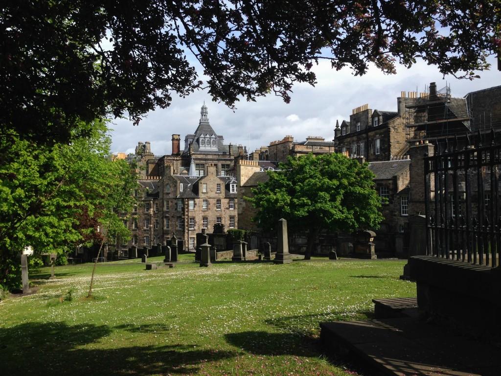 cemetary graveyard Greyfriar Edinburgh Scotland