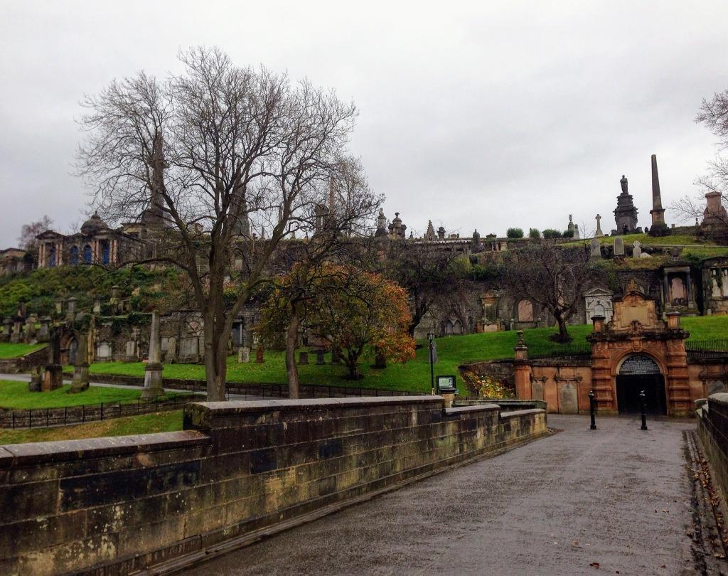 Glasgow Scotland Graveyard mausoleum Necropolis