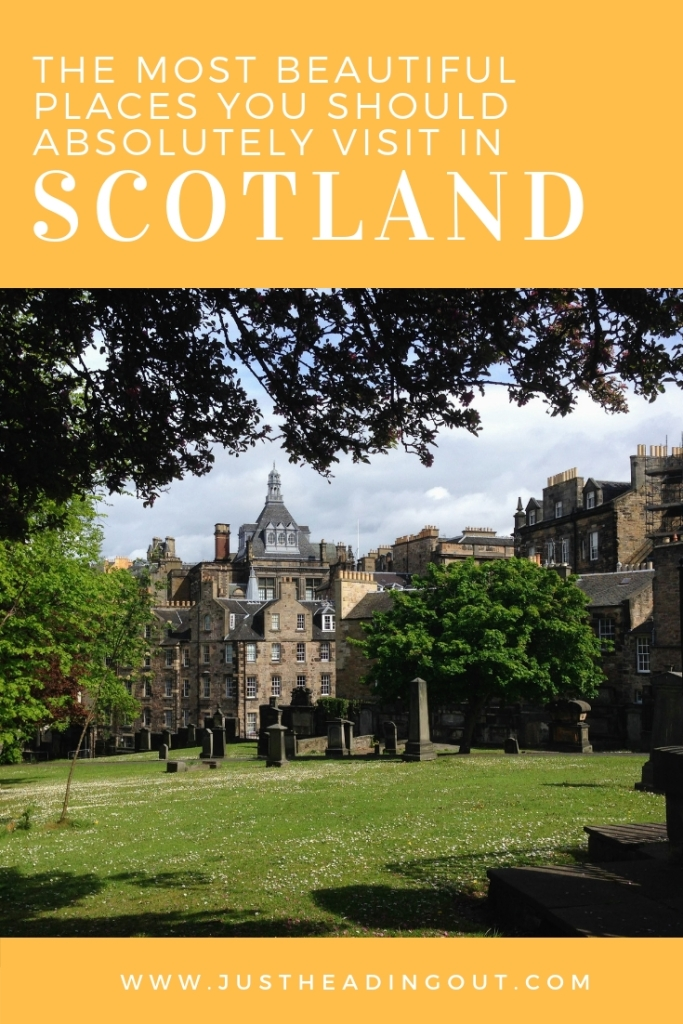 Scotland Edinburgh Greyfriars graveyard beautiful places travel guide