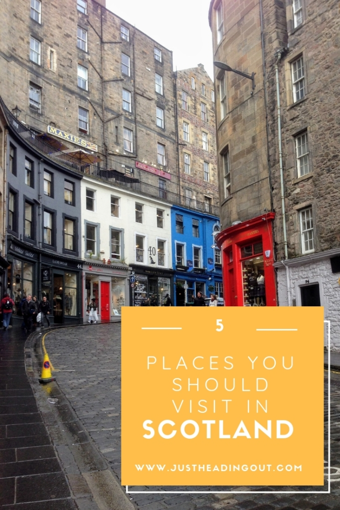 Scotland Edinburgh places to visit travel guide Scotland itinerary diagon alley