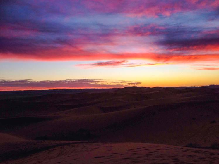 Sahara Merzouga Morocco desert tour sunset
