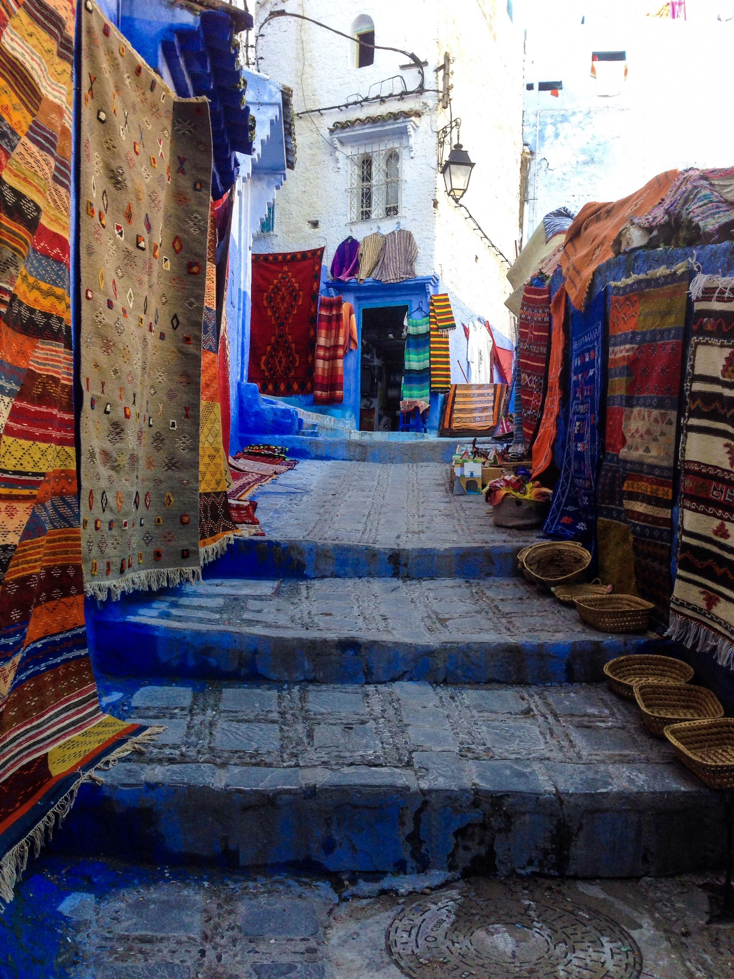 Chefchaouen Morocco blue city travel guide