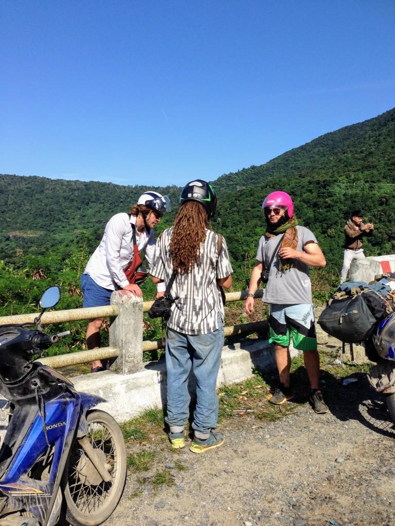 Hai Van pass Vietnam motorbike