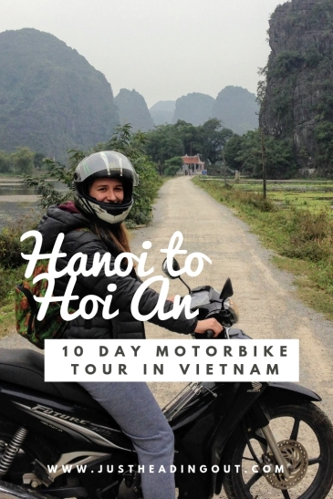 Vietnam motorbike tour itinerary Hanoi Hoi An